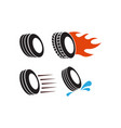 tyre icon design set bundle template isolated vector image