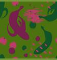 brush grunge banana seamless pattern vector image