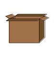 Cardboard box icon image