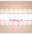 garter and stocking bride vector image vector image