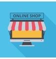 icon Online Shop vector image vector image