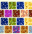 repeating seamless pattern of colored squares vector image vector image