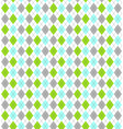 Seamless Bright Abstract Rhombus Pattern vector image