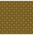 seamless geometric dark beige texture vector image vector image