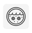 waste water icon vector image vector image