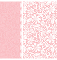 lace background with border