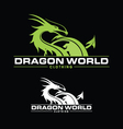 Dragon World vector image vector image