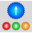 dropper sign icon pipette symbol Set of colored vector image vector image