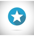 flat star icon vector image