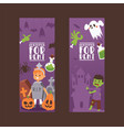 halloween kids costume trick or treat party vector image vector image
