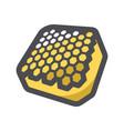 honeycomb natural honey icon cartoon vector image
