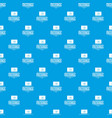 message pattern seamless blue vector image vector image