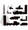 Military Anti-air vector image