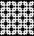 seamless pattern black white geometric ornament vector image vector image