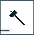 sledgehammer icon simple vector image vector image