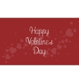 Valentine theme on red backgrounds vector image vector image