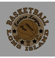basketball fashion Typography sport vector image vector image