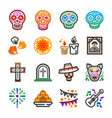 day dead icon vector image