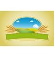 flour package design vector image