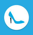 stiletto icon colored symbol premium quality vector image