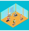 Training Apparatus and Active People vector image vector image