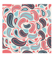 Abstract seamless pattern in pink and blue tones vector image