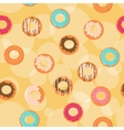 donuts background vector image