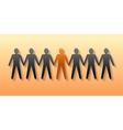 Team leader Company boss Teamwork vector image
