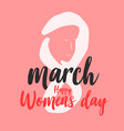 happy women day background graphic vector image vector image