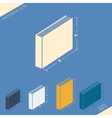 Icon of various format photobook vector image vector image