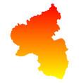 map of rhineland-palatinate vector image vector image