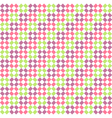 Seamless Bright Abstract Rhombus Pattern vector image vector image