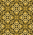 abstract golden seamless pattern vector image