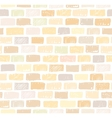 Brick wall light seamless pattern drawing vector image