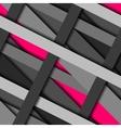 Diagonal strips pattern vector image vector image