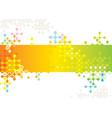 digital pattern vector image vector image