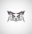 OWL logo vector image vector image
