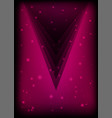 pink poster abstract background vector image vector image