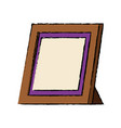 retro frame photo gallery decoration icon vector image