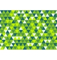 Retro Triangle Pattern Dream in Color vector image