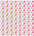 Seamless Bright Spring Summer Butterfly Pattern vector image