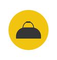 Sport bag icon vector image vector image