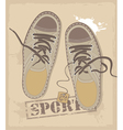 Sports shoes vector image