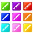 battery mod for electronic cigarette set 9 vector image vector image