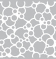 bubbles and circles seamless pattern vector image