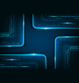digital technology futuristic background to vector image vector image