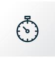 pressure tracker icon line symbol premium quality vector image