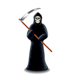grim reaper isolated vector image