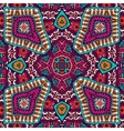Abstract festive mexican ethnic pattern vector image vector image
