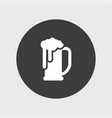 beer icon simple vector image vector image